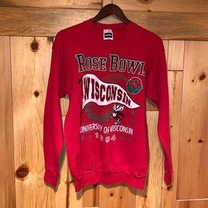 Vintage 90's WISCONSIN BADGERS UW Sweatshirt M/L
